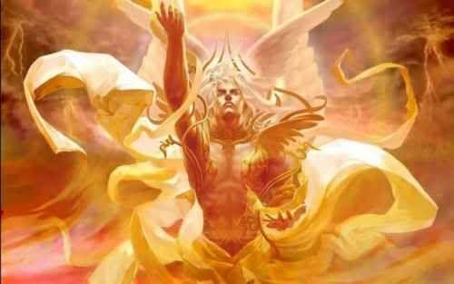 Titan God Of The Sun And Sunlight
